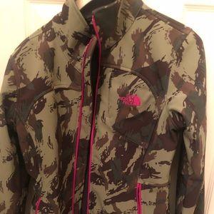 North Face Camo Jacket